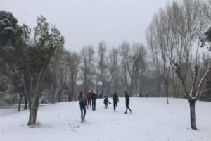 Η φωτογραφία της Ημέρας: Πλησιάζει η κακοκαιρία «Ζηνοβία»! Ετοιμαστείτε για χιονοπόλεμο!