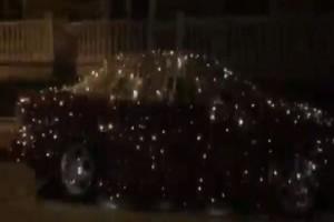Αμάξι... «πολύφωτο» στην Κατερίνη! (Video)