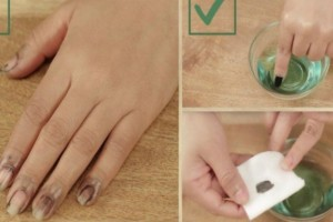 Βουτήξτε τα νύχια σας σε ένα μπολ με ασετόν! Τότε θα δείτε το σκούρο βερνίκι να...(Video)
