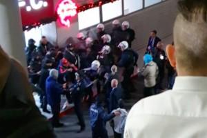 Χαμός στο Καραϊσκάκη: Επεισόδια έξω από τα αποδυτήρια!