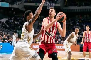 Euroleague: Εύκολη ήττα για τον Ολυμπιακό στην Μαδρίτη!