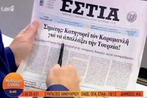 Τα πρωτοσέλιδα των εφημερίδων (16/12) (Video)!