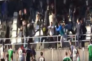 Άγριο ξύλο και τραυματισμοί σε αγώνα ποδοσφαίρου της Γ' Εθνικής! (Video)