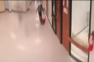 Κάμερα σε σχολείο καταγράφει τον φύλακα να κάνει κάτι φρικτό σε ένα παιδί! (Video)