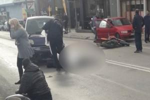 Τραγωδία στη λεωφόρο Λαυρίου: Γυναίκα παρέσυρε 2 μηχανές! Ένας νεκρός!