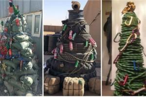 6+1 πιο περίεργα Χριστουγεννιάτικα δέντρα!