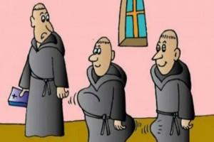 Οι τρεις καλόγεροι και το ξανθό τούμπανο: Το ανέκδοτο της ημέρας (24/01)!