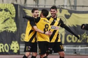 Super League 1: ΑΕΚ-ΑΕΛ 3-0! Μεγάλη νίκη για τον δικέφαλο!