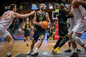 Basketball Champions League, Ράστα Φέχτα-ΑΕΚ 70-81: Στους «16»!