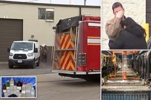 Φρικιαστικός θάνατος: Άνδρας έπεσε σε καζάνι με χημικά! (Video)