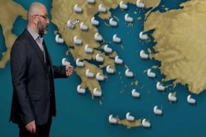 Έρχονται νέες χιονοπτώσεις! Η προειδοποίηση του Σάκη Αρναούτογλου! (Video)