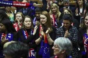 Επικυρώθηκε το Brexit! Αποχαιρέτησαν τους Βρετανούς στο Ευρωπαϊκό Κοινοβούλιο!