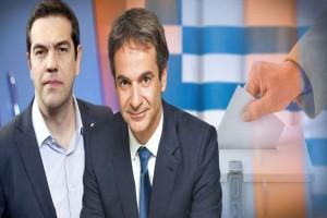 Διαφορά-σοκ ΝΔ-ΣΥΡΙΖΑ!
