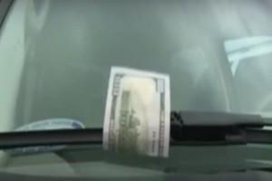 Αν βρείτε χρήματα στο παρμπρίζ του αυτοκινήτου σας, μην χαρείτε! Είναι μεγάλη απάτη!