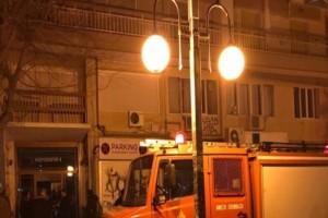 Θεσσαλονίκη: Φωτιά σε ρολόι της ΔΕΗ!