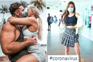 Τραγικό! Instagrammers βγάζουν φωτογραφίες με μάσκες και hashtag του κορωναϊού για να πάρουν followers!