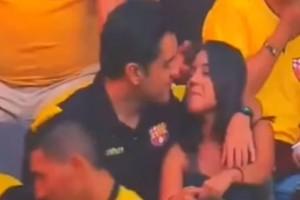 «Καταστράφηκε η σχέση μου, τι άλλο θέλετε;»: Σάλος με τον τύπο που τον έπιασε η κάμερα σε γήπεδο με τον παράνομο δεσμό του!