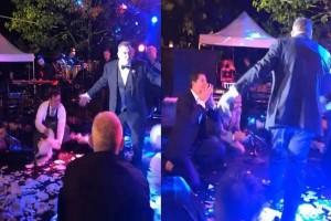 """Έλληνας τραγουδιστής παντρεύεται και στον γάμο του """"ρίχνει"""" το καλύτερο ζεϊμπέκικο που έχετε δει ποτέ!"""