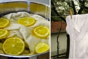 Βάζει φέτες λεμονιού σε μια κατσαρόλα με νερό και μουλιάζει τα ρούχα...Θα τρέξετε να το κάνετε!