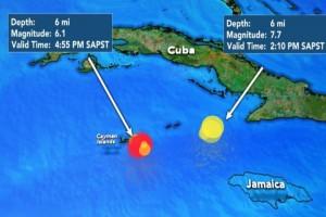 Νέος ισχυρός σεισμός 6,1 Ρίχτερ στην Καραϊβική!