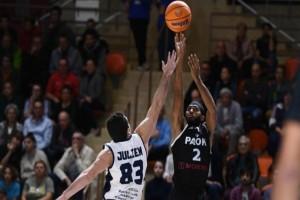 Basketball Champions League: ΠΑΟΚ - Ντιζόν 77-84!