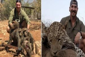 Φρίκη: Κυνηγός σκότωσε λιοντάρια για να βγάλει φωτογραφία  -  Λίγο αργότερα όμως τον περίμενε η μεγαλύτερη τιμωρία!