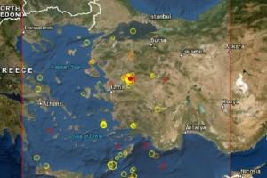 Ισχυρός σεισμός στην Τουρκία! (photo)