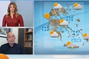 Τάσος Αρνιακός: Βελτιωμένος ο καιρός αλλά έρχεται νέα υποτροπή με χιόνια! (Video)