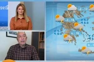 Έρχονται χιόνια! Προειδοποίηση από τον Τάσο Αρνιακό! (Video)