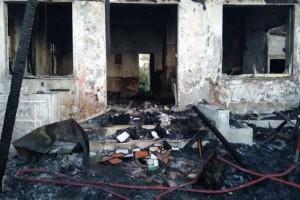 Χαμός στην Κρήτη! Καφετέρια κάηκε ολοσχερώς!