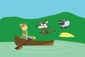 97% των ανθρώπων δεν έλυσαν τον γρίφο...Πώς θα περάσει ο αγρότης τον λύκο και το πρόβατο χωρίς να το φάει;