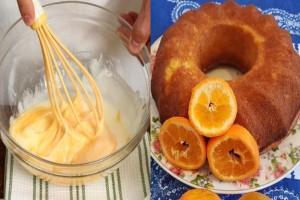 Κέικ κανέλας: Το εύκολο και υγιεινό κέικ με ελαιόλαδο, καστανή ζάχαρη και πορτοκάλι!
