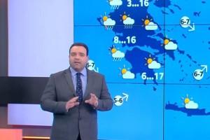 Κλέαρχος Μαρουσάκης: Αλλάζει «πρόσωπο» ο καιρός - Προσοχή σε αυτές τις περιοχές! (Video)
