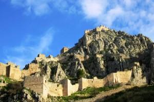 Το μαγευτικό φρούριο της Κορίνθου από ψηλά!
