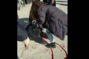 28χρονος μαχαιρώθηκε στο λαιμό στη μέση του δρόμου! «Ένιωσα το ζεστό αίμα να τρέχει...»! (Video)