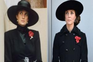 """""""Μπήκε"""" στα παπούτσια της πριγκίπισσας Νταϊάνα και η Κέιτ Μίντλετον! Τι έχει συμβεί;"""