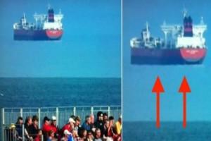 Αυτή η φωτογραφία με το πλοίο είναι αληθινή! Δεν πάει το μυαλό σας στο πώς συνέβη...και δεν είναι photoshop!