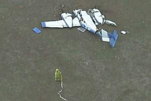 Σύγκρουση αεροσκαφών στον αέρα! 4 νεκροί! (photos)
