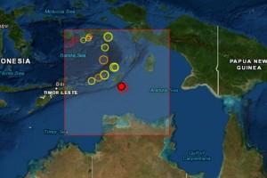 Σεισμός 6,2 Ρίχτερ στην Ινδονησία (photo)
