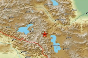 Νέος ισχυρός σεισμός στα σύνορα Τουρκίας-Ιράν!