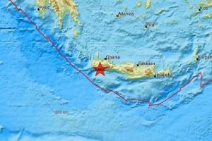 Σεισμός στα Χανιά