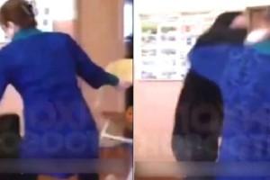 Σάλος σε σχολείο: Μαθητής επιτέθηκε με γροθιές σε καθηγήτρια! (Video)