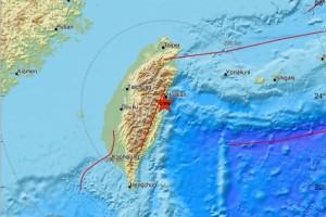 Σεισμός 4,2 Ρίχτερ στην Ταϊβάν!