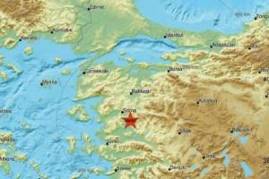 Νέα ισχυρή σεισμική δόνηση στην Τουρκία!