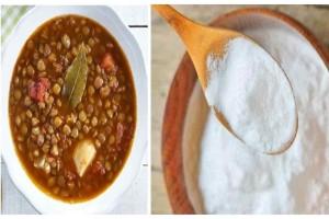 Βάλτε μαγειρική σόδα στις φακές  - Αυτό είναι το μυστικό για να πετύχουν