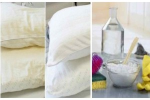 Απαλλαγείτε από τα μικρόβια που έχει το μαξιλάρι σας μόνο με σόδα και ξύδι
