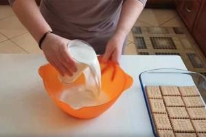 Το πιο εύκολο γλυκό ψυγείου με κρέμα που είναι έτοιμο μέσα σε 15 λεπτά!