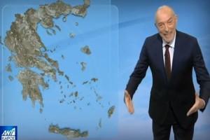 Συνεχίζεται η κακοκαιρία - Πότε θα φτιάξει ο καιρός; Ο Τάσος Αρνιακός προειδοποιεί
