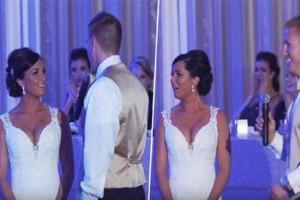 Γαμπρός κάνει μια μοναδική έκπληξη στην μέλλουσα γυναίκα του την ημέρα του γάμου τους - Αυτό που κάνει η νύφη μετά από λίγο θα σας αφήσει άφωνους