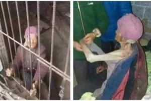 92χρονη ανήμπορη γιαγιά ζούσε για χρόνια εγκλωβισμένη σε κλουβί - Ο λόγος; Θα σας σοκάρει